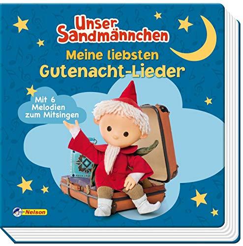 Unser Sandmännchen: Meine liebsten Gute-Nacht-Lieder: Soundbuch mit 6 Melodien zum Mitsingen