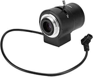 Security Camera Lens, Undistorted HD Camcorder Lens, Less Noise Surveillance System Nursing Home for Office Photographers ...