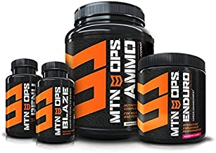 MTN OPS Conquer Weight Loss Combo - Healthy and Safe Supplements So You Can Lose Weight
