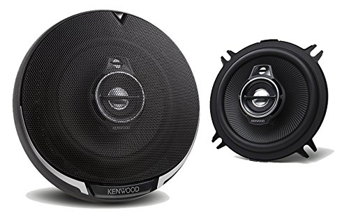 Kenwood KFC-1395PS 5-1/4' Round 3-Way Speakers - Pair