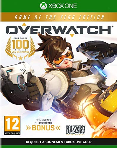 Blizzard Overwatch Game of the Year Edition Game of the Year Xbox One Francés vídeo - Juego (Xbox One, FPS (Disparos en primera persona), Modo multijugador, T (Teen))