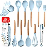 Kitchen Utensils Set - 9 Silicone Cooking Utensils for Non-stick...