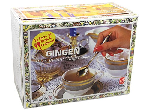 Gingen - Thai Ingwer Teegetränk - 70g - Je 14 Instant Sachets