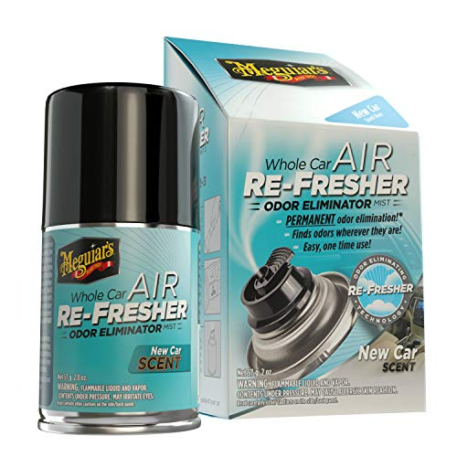 Meguiar's G16402EU Whole Car Air Re-Fresher ZollNew Car Zoll Lufterfrischer, 59ml