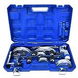 CT-999RF Manuelle Rohrbiegemaschine Kit 3/8 1/2 5/8 3/4 7/8 Zoll 90 Grad Rohrbiegewerkzeuge Inklusive Rohrbiegergestell für die Kühlung von Klimaanlagen