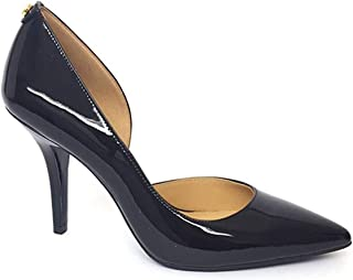 Michael Michael Kors Womens Nathalie Pointed Toe D-Orsay, Black Patent, Size 9.5