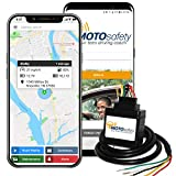 MOTOsafety OBD WIRED GPS Car Tracker, Vehicle Tracker and Monitoring System with Real Time Location GPS Reports, Auto Maintenance, Adults, Fleet, Parents, Teen, Elderly, 4G with Phone App