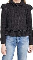 Ganni Women's Rib Knit Pullover