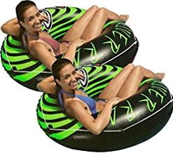 Intex 2-Pack River Rat 48-Inch Inflatable Tubes for Lake/Pool/River   2 x 68209E