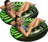 Intex 2-Pack River Rat 48-Inch Inflatable Tubes for Lake/Pool/River | 2 x 68209E