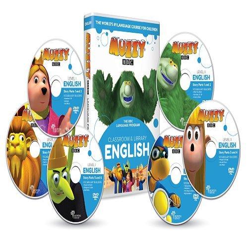 Englisch für Kinder Muzzy BBC DVD und Online-Kurse - Spiele und Videos - BBC-Sprachkurse