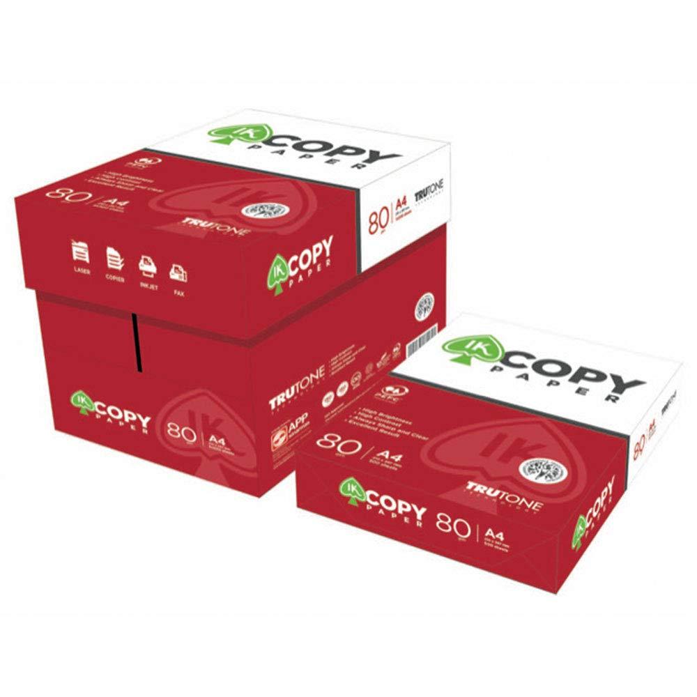 Caja Folios A4 Blancos para Impresoras Copy Paper paquete de 500 ...