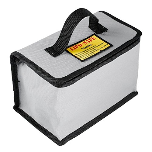 YUNIQUE ESPANA Seguridad, Carga de la batería de Almacenamiento Caja Fuerte Resistente al explosión Guardia Bolsa para RC Drone dji Mavic Pro Pilas (cm 215 x 155 x 115) (BQ AVM7 B0ZA)