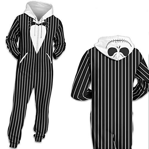 Unisex Halloween Herren Damen Jumpsuit Onesie Jogger Einteiler Overall Jogging Anzug Trainingsanzug Slim Fit 3D Druck Strampler - 2