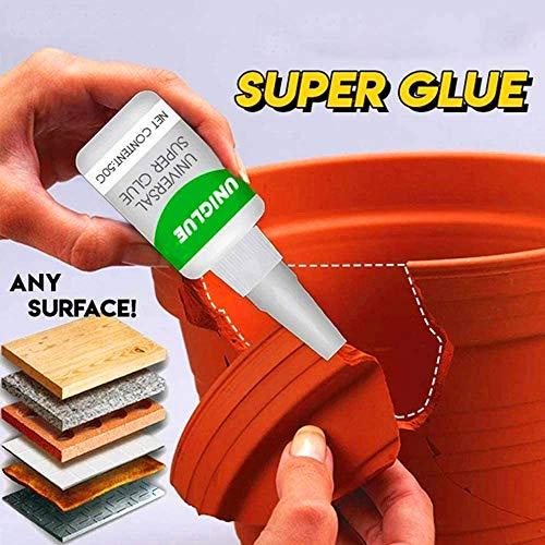 2PCS algemene superlijm, sterke plastic lijm voor hars keramiek metaal glas