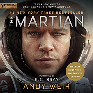 The Martian audiobook cover art