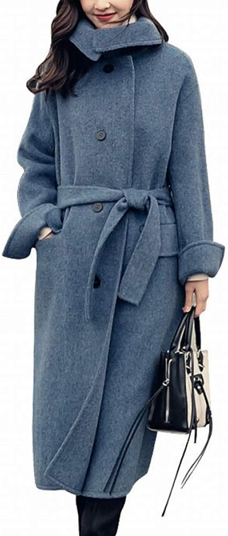 Coat Jacket, Woolen Coat, Fashion Nizi Coat, Female Long Section Over The Knees Autumn and Winter Woolen Coat, Loose Students XQY