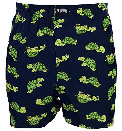 Happy Shorts Webboxer Herren Boxer Motiv Boxershorts Farbwahl, Design 3, M - 5 - 50