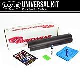 "Luxe LightWrap Dark Smoke Carbon Universal Headlight Tail Light Tint Kit (20"" x 3 Yard)"