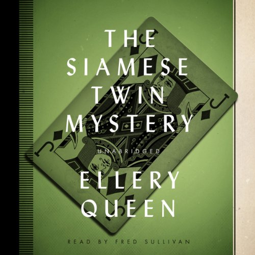 The Siamese Twin Mystery audiobook cover art