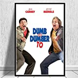 Leinwand Ölgemälde dumm und dümmer Badezimmer Jim Carrey