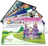 Develop Essential Skills While Playing! Our educational 3D house puzzle for kids will help your child develop hand-eye coordination, fine motor skills, problem-solving skills and patience - while having fun! Give your loved one the infinite love by t...