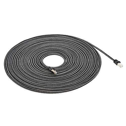 AmazonBasics geflochtenes RJ45 Cat-7 Gigabit Ethernet Patch Internetkabel, 15,2 m