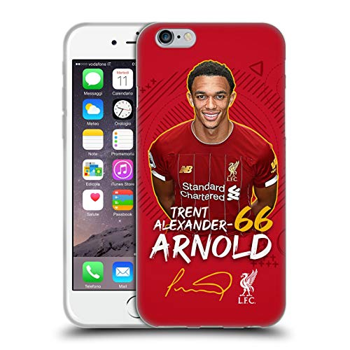 Head Case Designs Offizielle Liverpool Football Club Trent Alexander-Arnold 2019/20 Erstes Team Gruppe 1 Soft Gel Handyhülle Hülle Huelle kompatibel mit Apple iPhone 6 / iPhone 6s