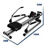 VIO Rudergerät Heim Rudergerät Fitness-Studio Indoor-Multifunktions-Rudergeräte Fitnessgeräte,grau,Einheitsgröße - 4
