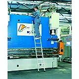 Zarges LM de niveles de aluminio telescópica (12peldaños Z500