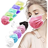 50-Pack HIWUP 3 Layer Disposable Face Masks
