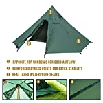 OneTigris Iron Wall Stove Tent with Inner Mesh, Weighs 1900g, New Model