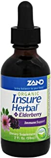 Zand Org Insure Herbal + Elderberry 2oz