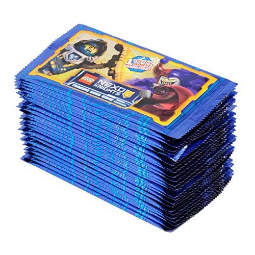 LEGO NEXO KNIGHTS Trading Cards Game Sammelkarten 25 x Booster