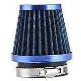 Filtro aspirazione aria moto KIMISS, pulitore aspirazione filtro aria moto universale per ...