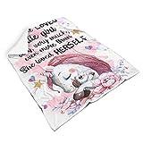 djfrnuki kuschelig Fleece Decke für Bett Nicht fusseln für Erwachsene Sonnenscheinstil White 130x150cm