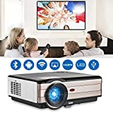 EUG 4200 lumen HDMI Android WiFi LCD Projector WXGA LCD TFT Display Max 200'...