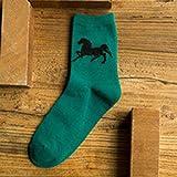 CXKWZ Chaussettes Homme 5 Paires De Chaussettes pour Hommes Chaussettes Mignonnes Confortables De La Mode pour Hommes Automne-Hiver Coton Antibactérien Chaussette Personnalisée