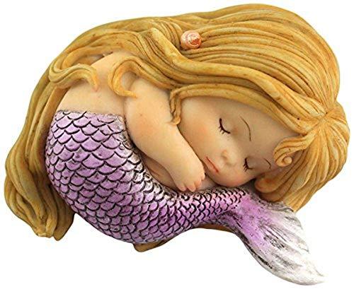 Top Collection Miniatur-Feengarten und Terrarium, schlafende Meerjungfrau