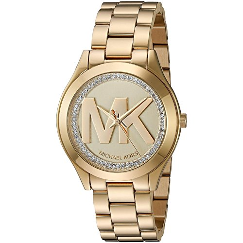Michael Kors Reloj de mujer cuarzo 32mm correa y caja de acero MK3477