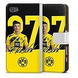 Etui Compatible avec Sony Xperia Z5 Compact Etui Folio Etui magnetique Borussia Dortmund BVB...