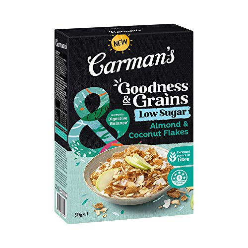 Carman's Goodness & Grains Almond and Coconut Flakes, 375 g