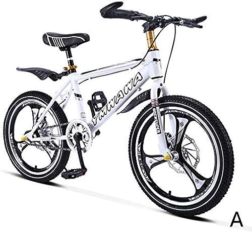fürrad Schüler fürrad Single Speed  ountainbike Junge fürrad mädchen fürrad 18 Zoll, ein Rad, Rahmen aus Kohlenstoffstahl (Farbe   C, Größe   18INCHES)
