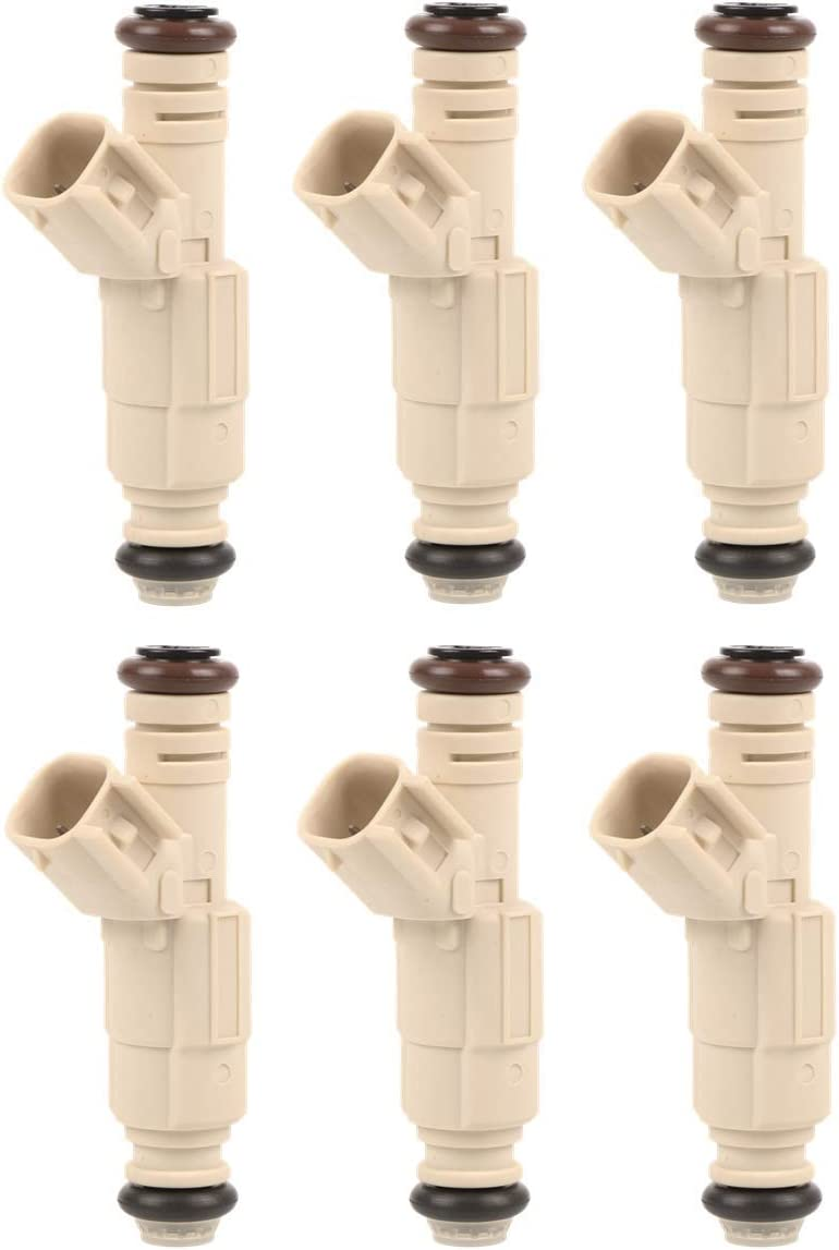 MOSTPLUS YL8E-C7B 822-11157 Fuel Injectors 0 Max Import 46% OFF Ford for Compatible