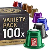 Real Coffee - 100 Fairtrade & Organic Nespresso Compatible Pods