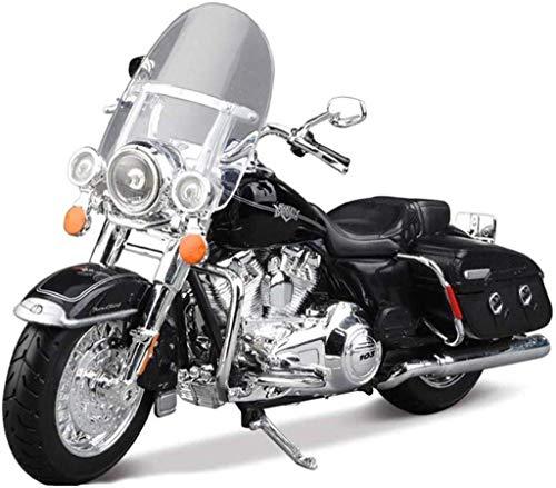 Yppss Modelo de juguete de la motocicleta modelo 2015 Harley Gliding Road superficie locomotora simulación aleación modelo de motocicleta colección regalos eternal