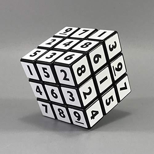 JIAMIN Rubik's Cube - Puzzles de cubos de velocidad profesionales, juguetes educativos...