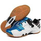 MMSM Zapatillas De Tenis De Entrenamiento Calzado De Tenis De Calidad para Hombres Zapatillas De Bádminton De Lujo Zapatillas De Voleibol para Parejas Blue-39