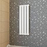 MUSEVANE Paneelheizkörper Weiß 311 × 900 mm