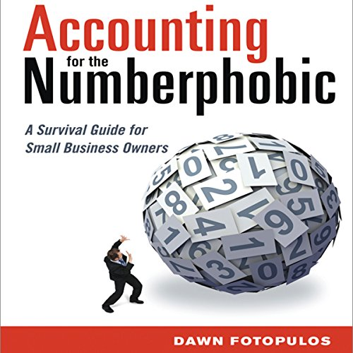 Accounting for the Numberphobic audiobook cover art